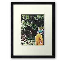 Alice In Wonderland's Mad Hatter  Framed Print