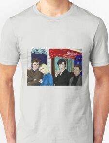 WhoLock On Baker Street Unisex T-Shirt