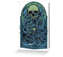 Ocean Skull  Greeting Card