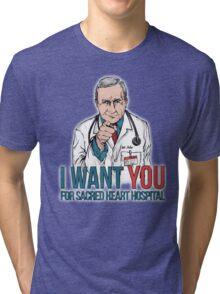 Scrubs Bob Kelso Tri-blend T-Shirt