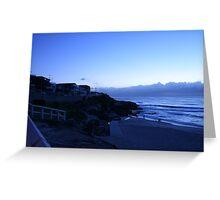 Blue Horizon Greeting Card