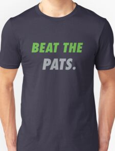 Beat the Pats. Unisex T-Shirt