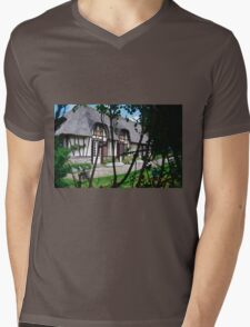 Paysages Normandie LOVE  landscapes 22 (c)(t) canon eos 5 by Olao-Olavia / Okaio Créations   1985 Mens V-Neck T-Shirt