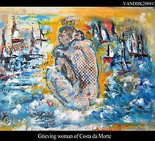 """Grieving Woman of the Costa da Morte"""" (Spain) by Olga van Dijk"""