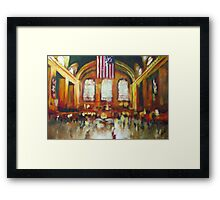 Grand Central Train Station New York City NYC Framed Print