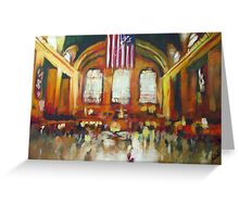 Grand Central Train Station New York City NYC Greeting Card