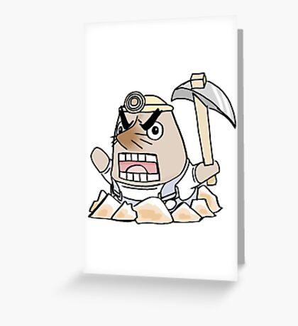 Simply Mr. Resetti Greeting Card