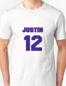 National baseball player Justin Smoak jersey 12 T-Shirt