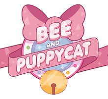 Bee and Puppycat Logo by niymi