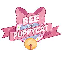 Bee and Puppycat Logo Photographic Print