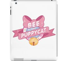 Bee and Puppycat Logo iPad Case/Skin