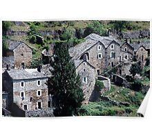Paysages vieux village France landscapes 23 (c)(h) canon eos 5 by Olao-Olavia / Okaio Créations   1985 Poster