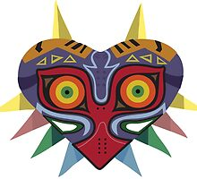 Colourful Majoras Mask by niymi