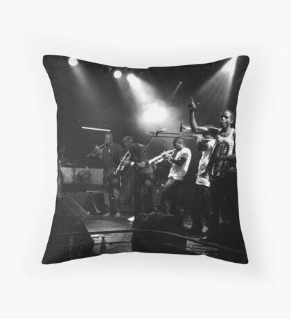 Hypnotic Ensemble Throw Pillow