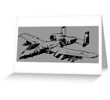 A-10 Thunderbolt II Greeting Card