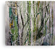 Bamboo in Water #5 Canvas Print