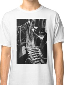50cal on a B-17 Flying Fortress Classic T-Shirt