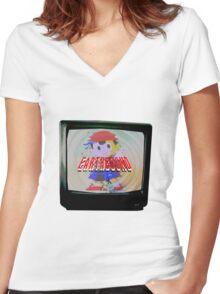 PK Screen Women's Fitted V-Neck T-Shirt