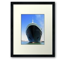 Bow Voyage Framed Print