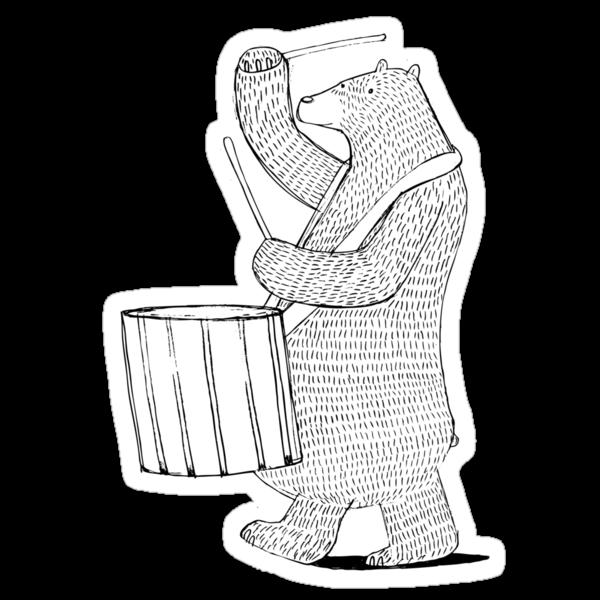 The Drummer by David Barneda