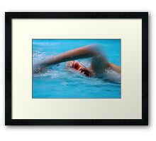 ASA National Age & National Youth Championships 2 Framed Print
