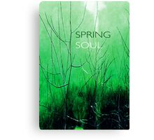 Psychmaster Spring Brush 101 Spring Soul Canvas Print