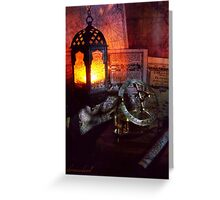 Nuit d'Orient Greeting Card