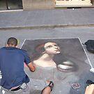 Chalk Art Masterpeice by Beaner
