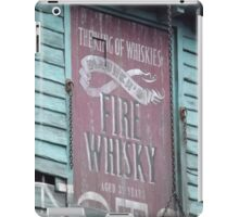 Fire Whisky iPad Case/Skin
