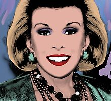 Farewell Joan Rivers 2014 by Sandra Schnellhaus