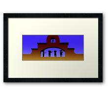 Casa Tequila Framed Print