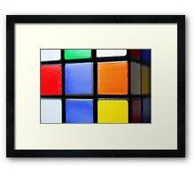 Cube of Frustration Framed Print