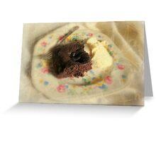 Chocolate Bubble Bump Greeting Card