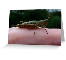 Finger Hopper Greeting Card