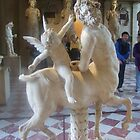 centaur and Cupid at the Louvre, Paris by chord0