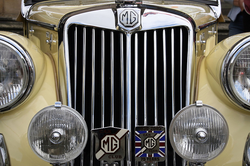 Vintage MG by CBenson