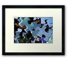 The Lost Pieces Framed Print