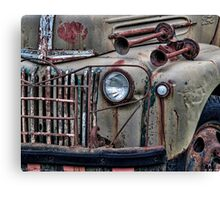Vintage Rust Canvas Print