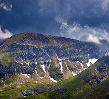 Fagaras mountains in Romania by naturalis