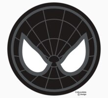 Hero Circles - Black Spidey by jimcwood
