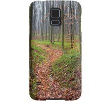 Forest alley Samsung Galaxy Case/Skin