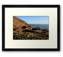 Farmhouse Ruin Framed Print