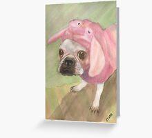 Miss Piggy Greeting Card