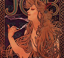 'Job' by Alphonse Mucha (Reproduction) by Roz Abellera Art Gallery