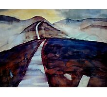 there are only two escapes - painting and travel Photographic Print