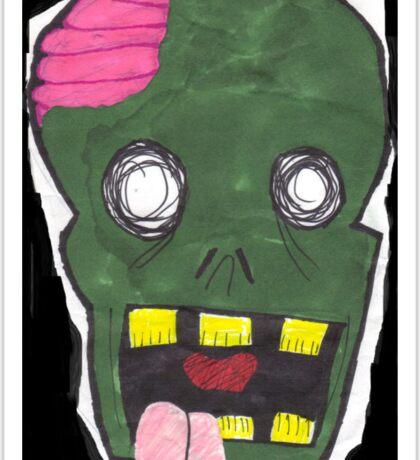 Zombie uuugggh.... Sticker