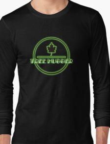 Tree Hugger Neon Long Sleeve T-Shirt