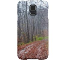 Forest road Samsung Galaxy Case/Skin