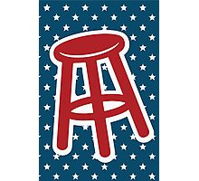 Bar Stool Sports  Photographic Print
