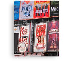 Bright Broadway Canvas Print